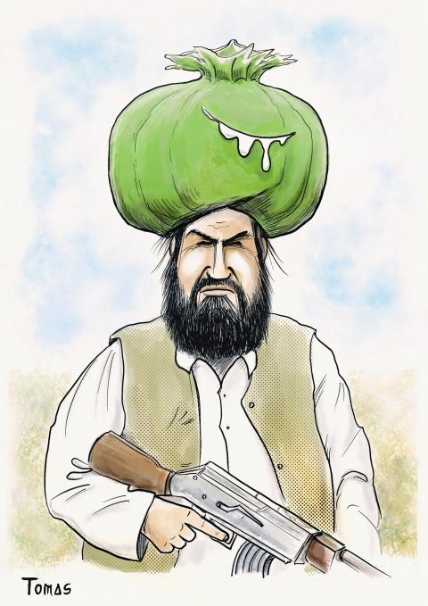 The Taliban regain control of the opium trade