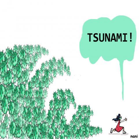 This is a tsunami
