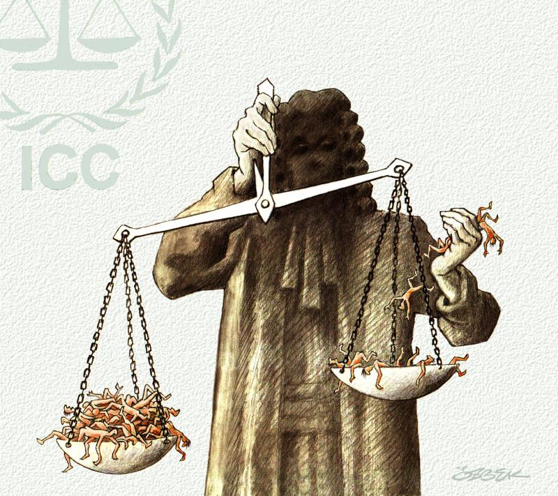 Cartoon about justice