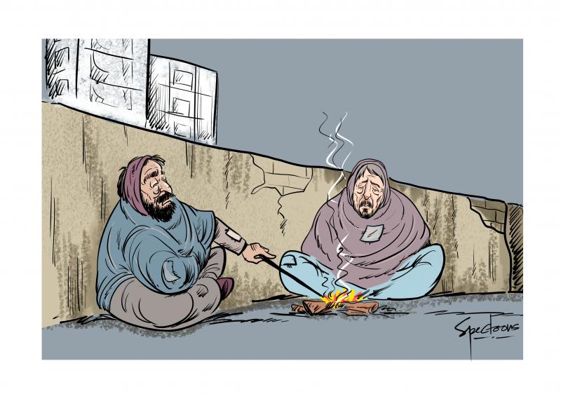Winter is toughest for poor & homeless.