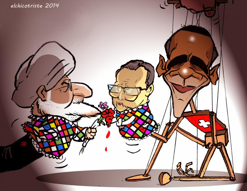 Cartoon about diplomacy