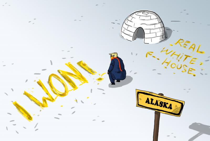 Trump wins ... Alaska