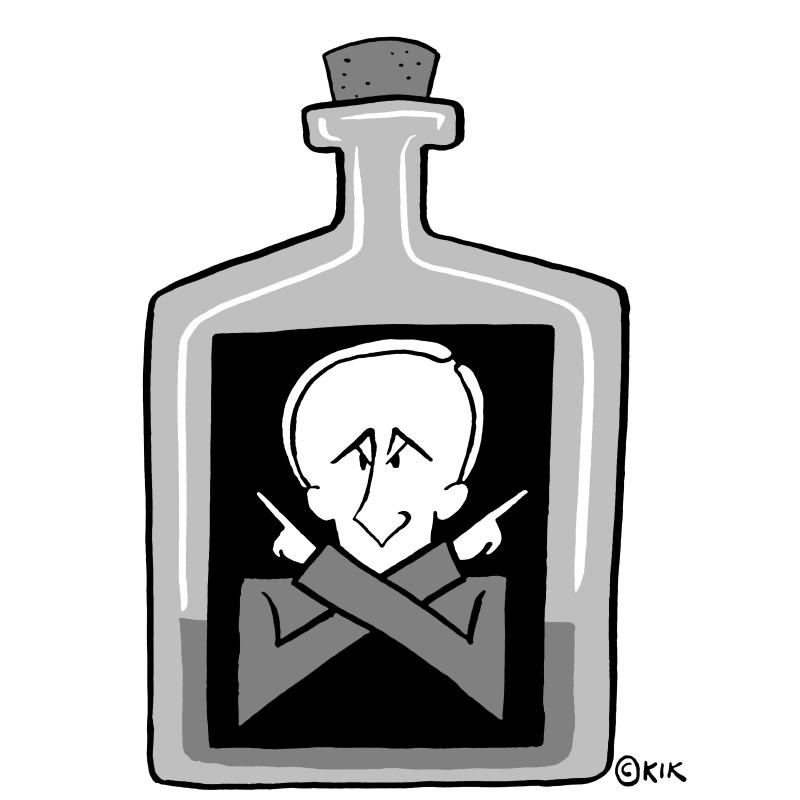 Navalny, another enemy of Putin, is poisoned.