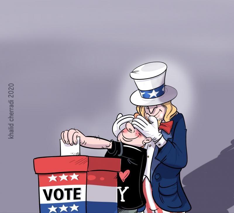 America is voting