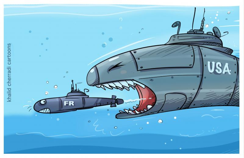 After seizing the submarine deal with Australia, an unprecedented diplomatic crisis between France and the United States