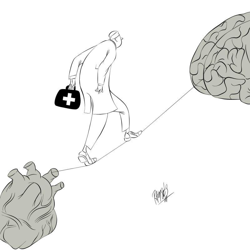 Cartoon about mental health