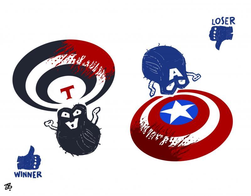 Talibans Vs. Captain America  !