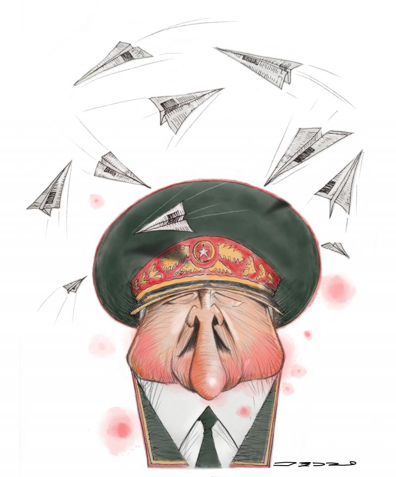 Cartoon about Lukashenko