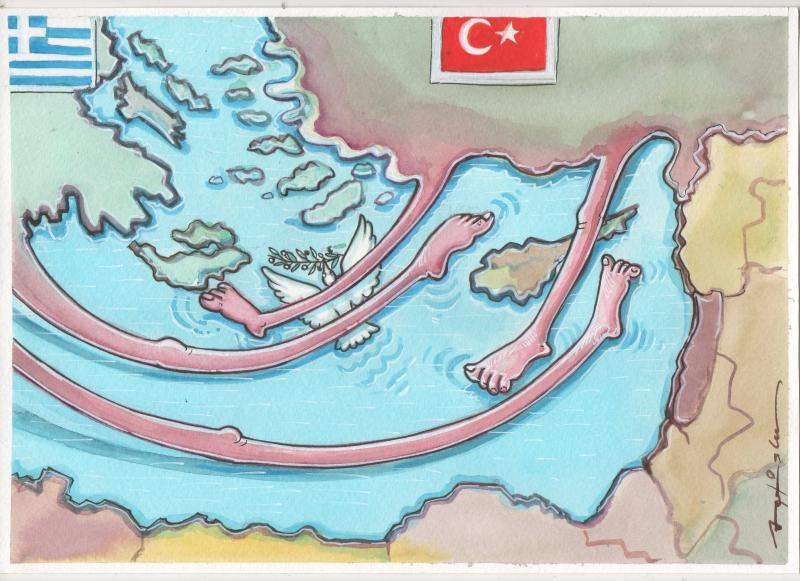 Eastern Mediterranean issue between Greece and Turkey. The dialogue should be given the opportunity urgently. No war . Let's save the pigeon.