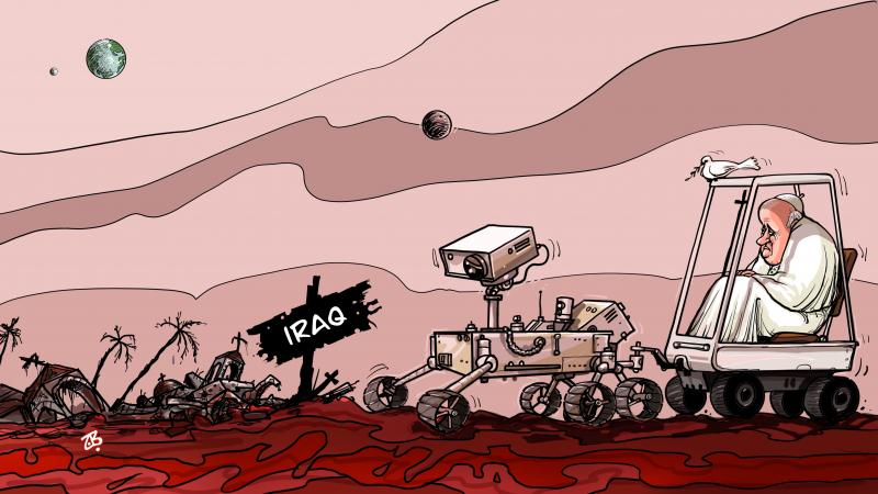 Peace rover in Iraq