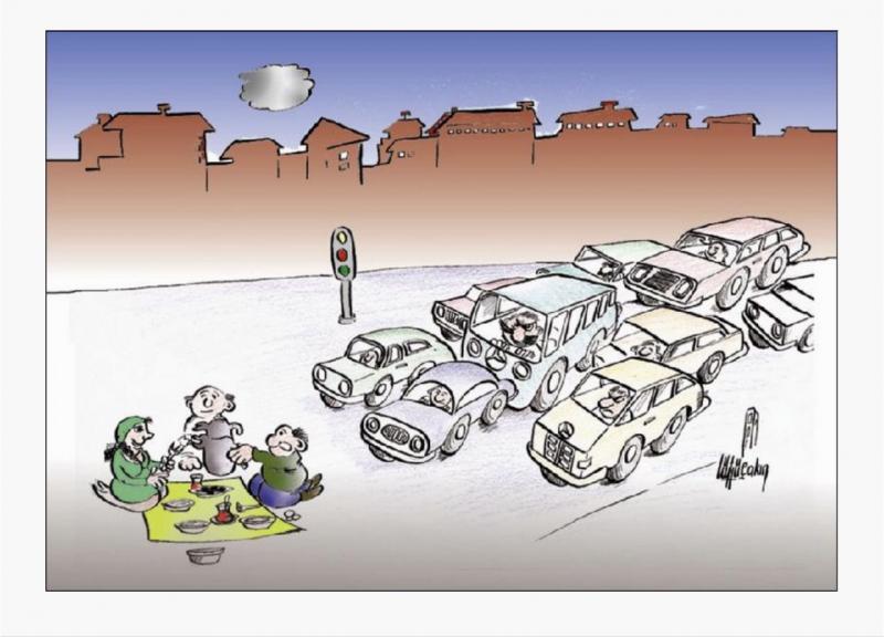 Traffic metropolitan