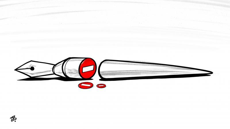 pen cut