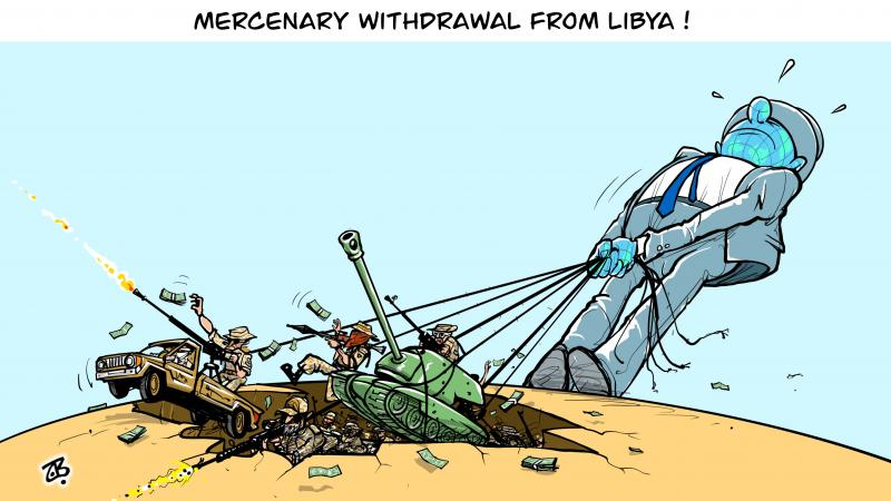 Mercenaries withdrawal from Libya !