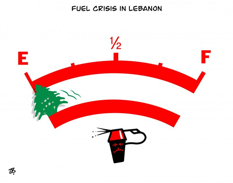 Fuel crisis in Lebanon