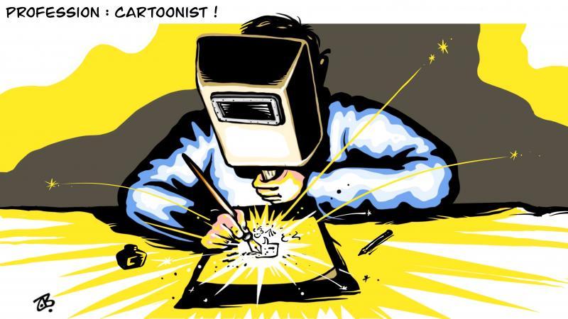Profession : Cartoonist