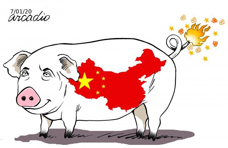 From China, new virus.