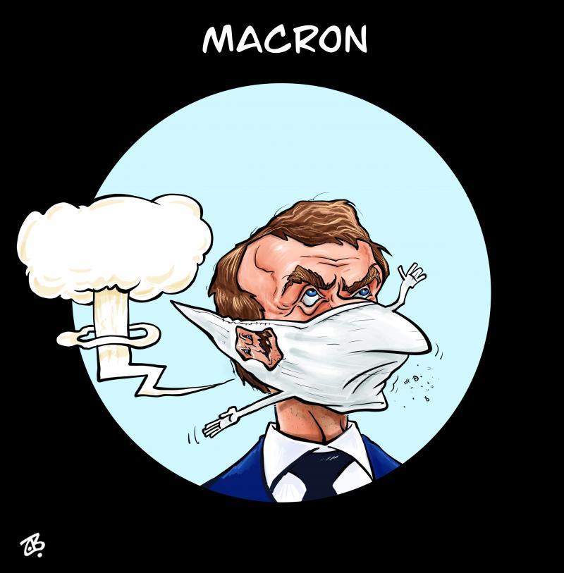 Macron maskkk !