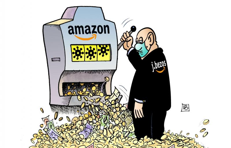 Amazon Corona Profit