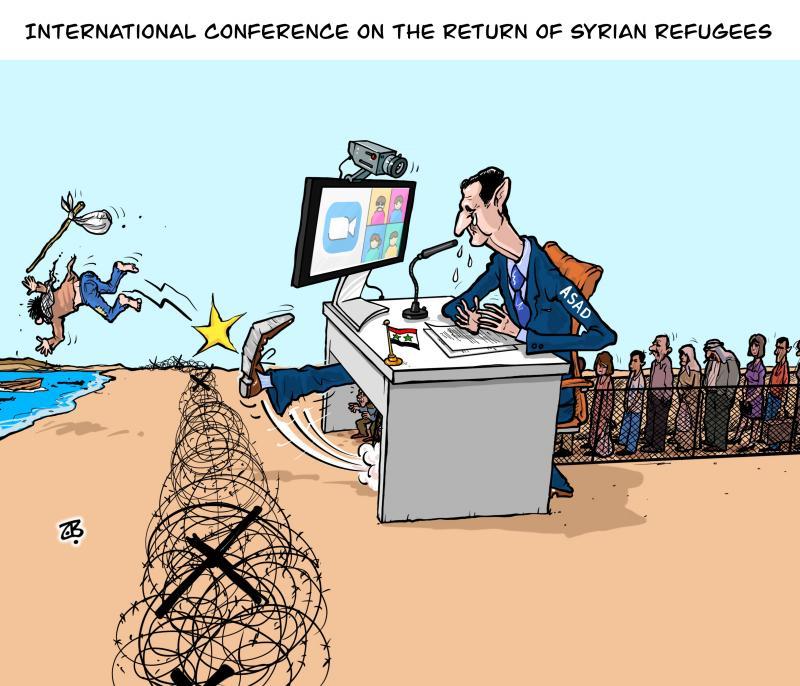 Asad conference on refugees