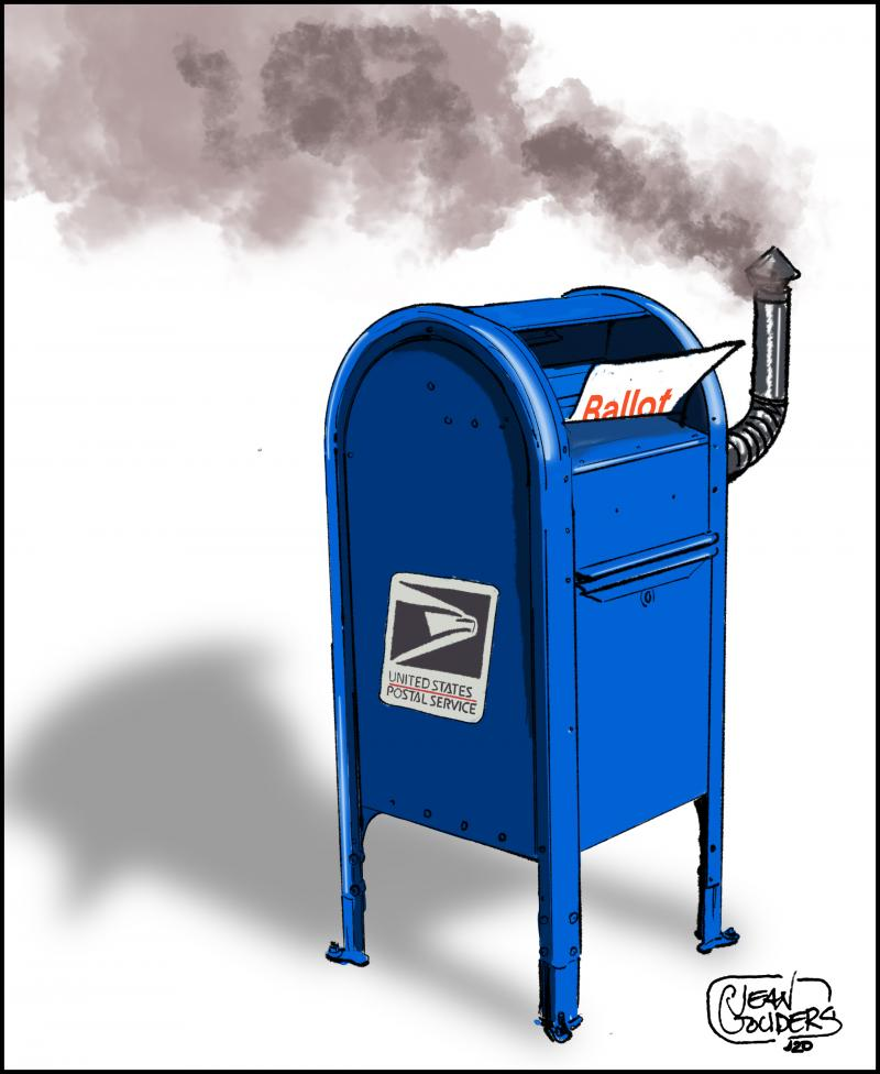 Trump is trying to sabotage voting by mail because he thinks the democrats will benefit ...