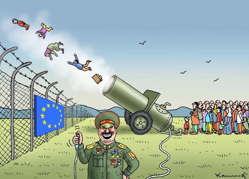 Blackmailer Lukashenko