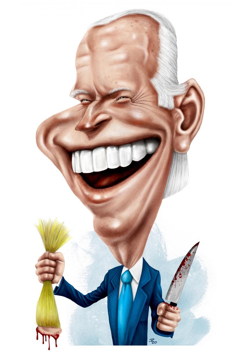 Joe Biden shows scalp predecessor