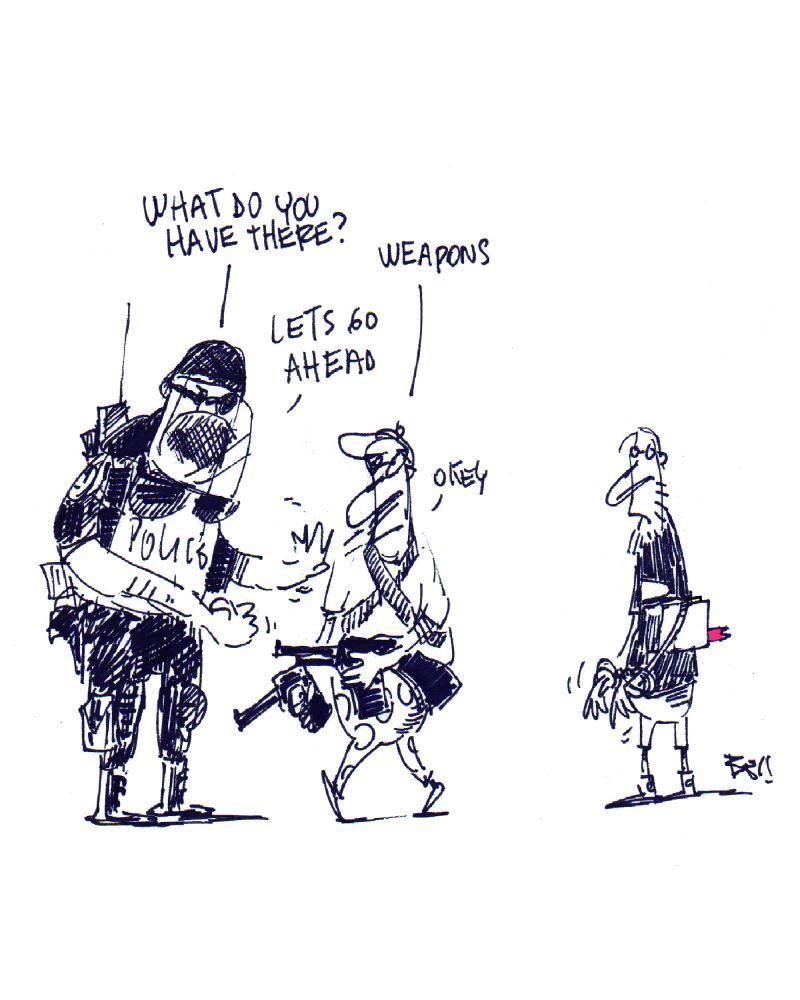 Policía, USA, Trump.