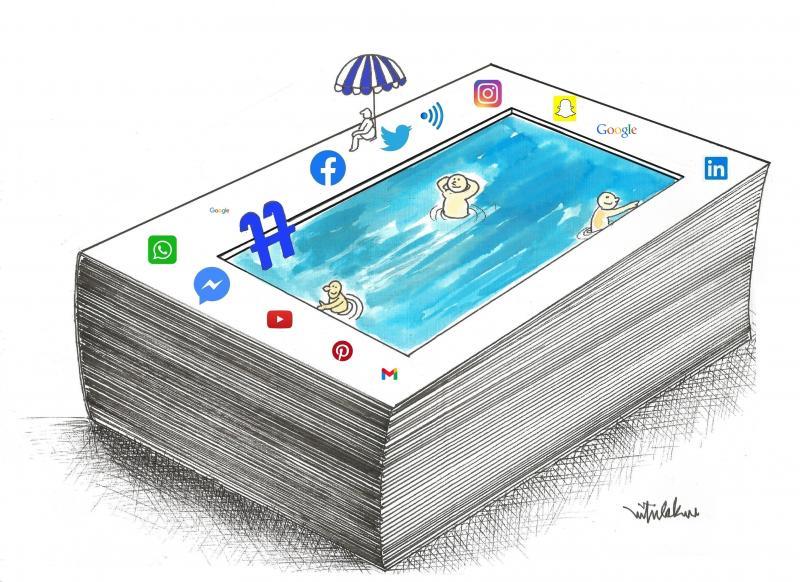 Social media and book