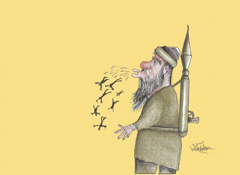 The Taliban blew