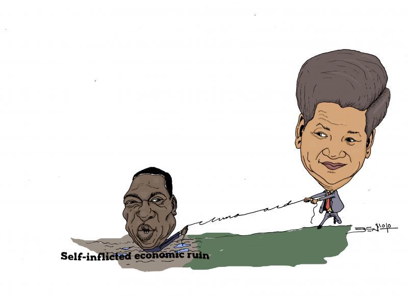 China in frantic effort to save Zanu PF