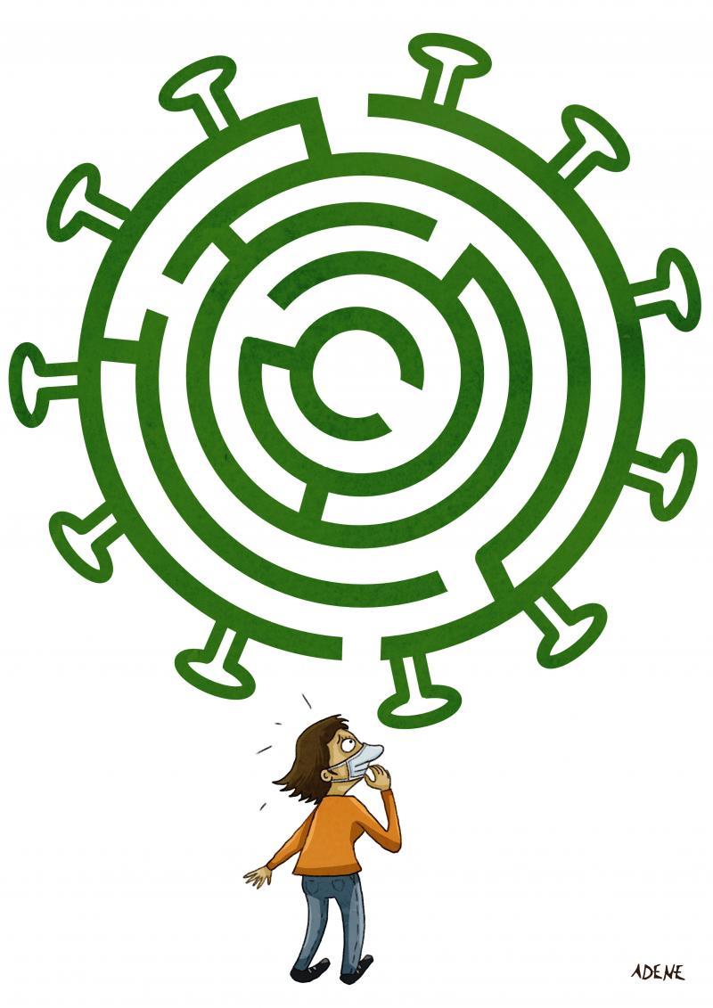 Coronavirus Maze