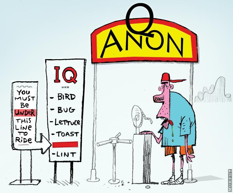 Cartoon about conspiracies