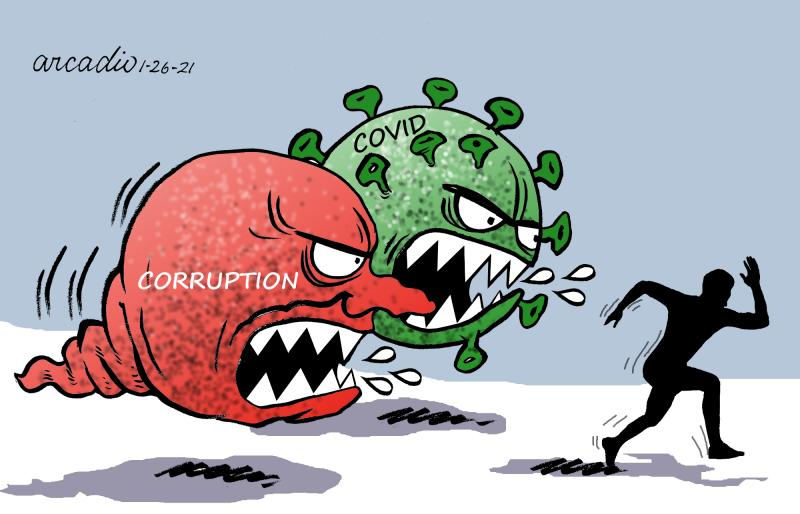 Corruption in times of pandemic.