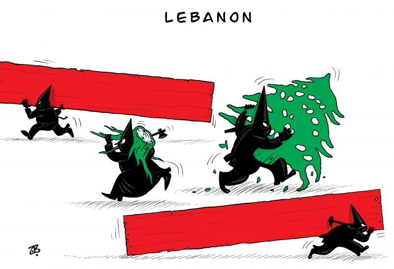 Lebanon: A falling apart country !