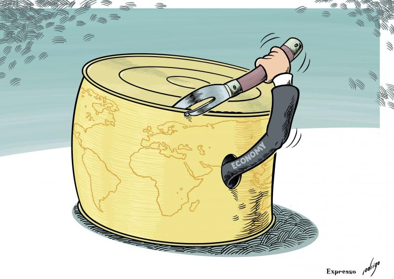 World economy wishing for the confinement to end