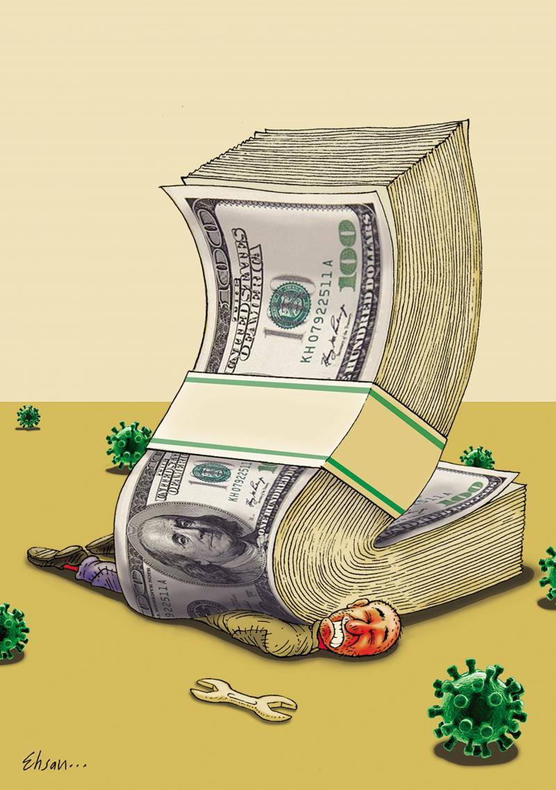 The economy against health