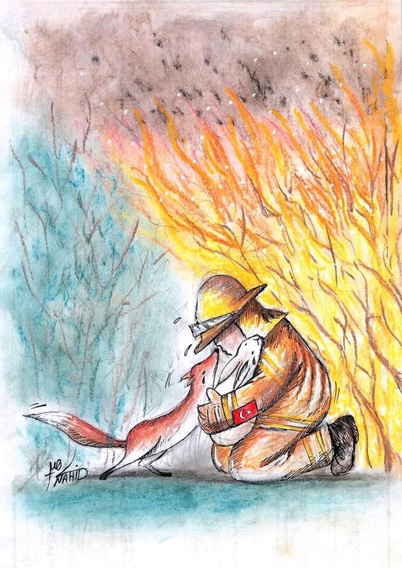 Turkey is burning