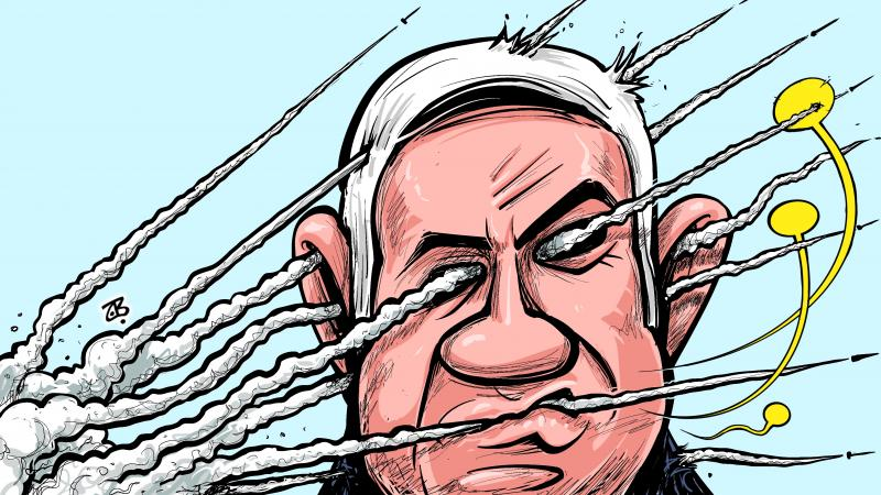 Netanyahu .. The hollow leader !