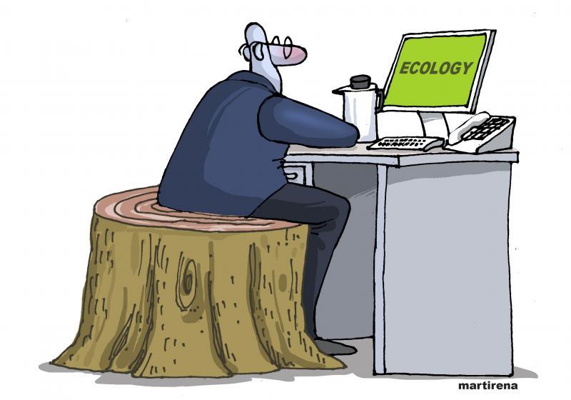 Fake ecologist