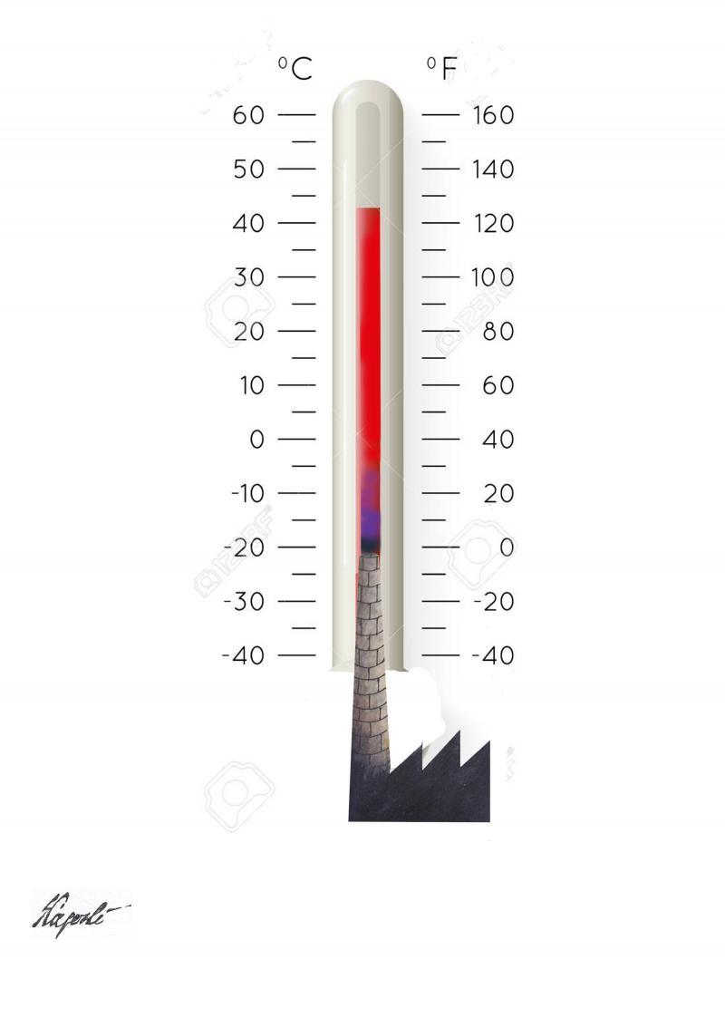 Global warming..