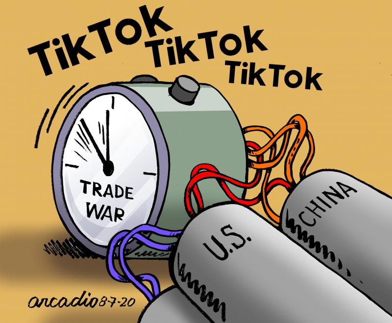 Tik Tok and other issues tense relationship between US and China.