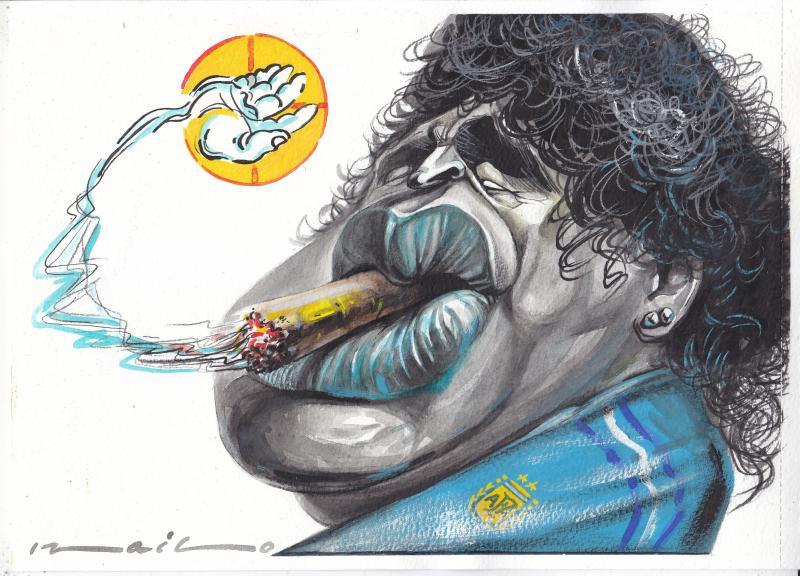 Diego Maradona passed away unexpectedly!