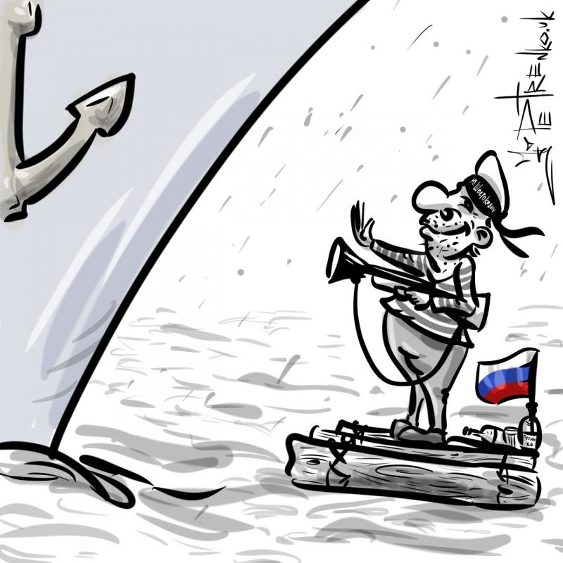 #Russia demanded to observe international law near the borders of the occupied Crimea