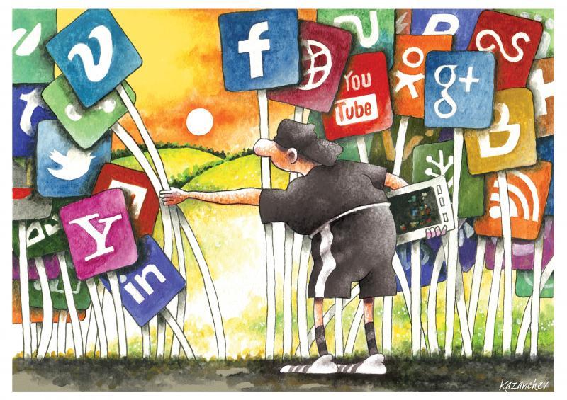 Social networks, world, children, future, education, isolation