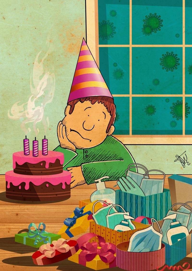 Happy Birthday in Covid 19