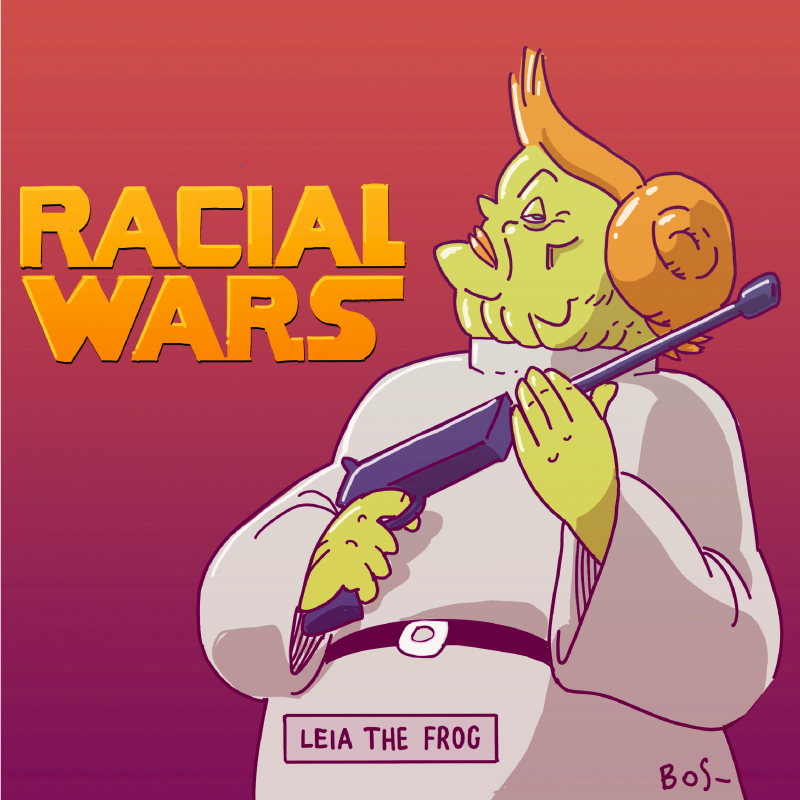 From Racial Wars: Leia The Frog