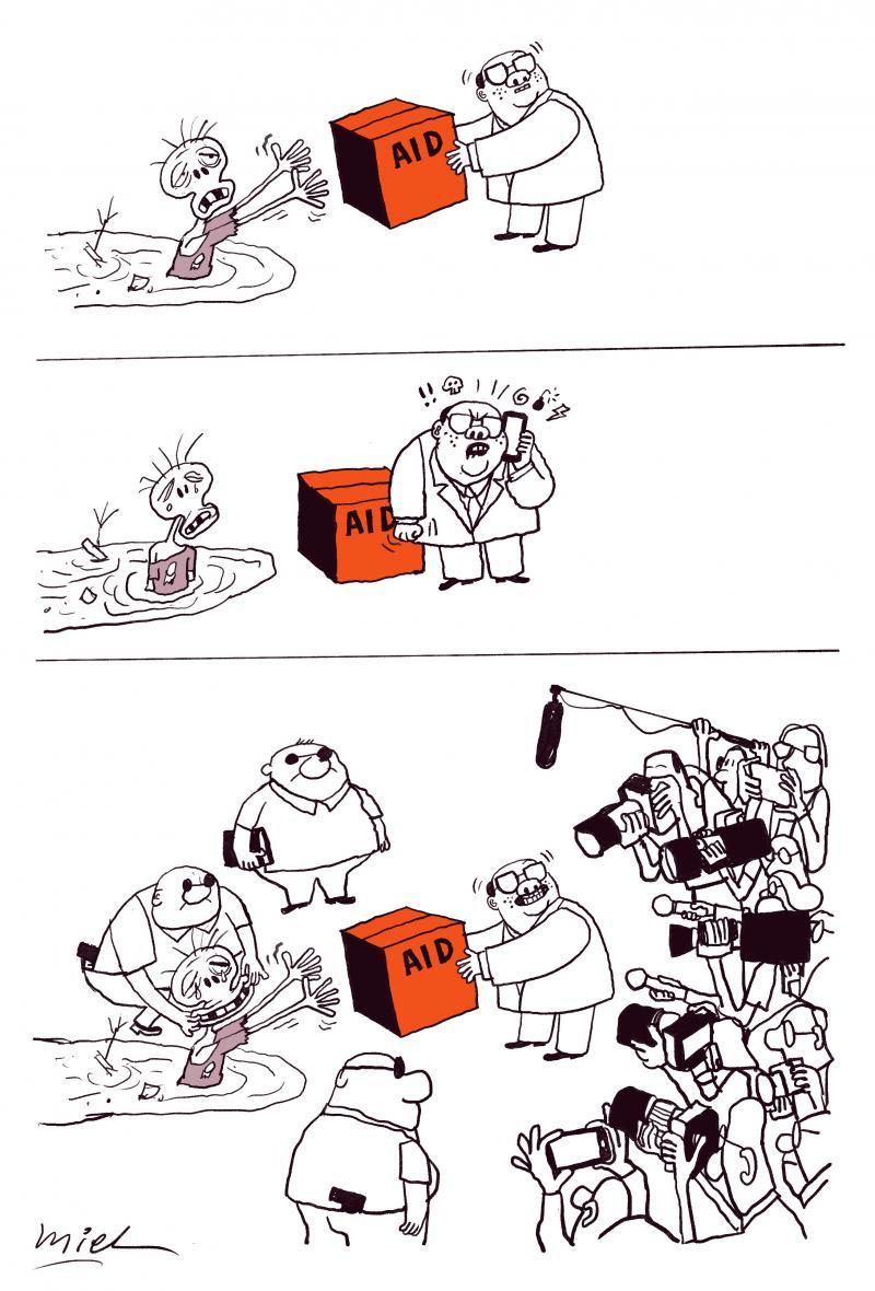 Cartoon about politicians