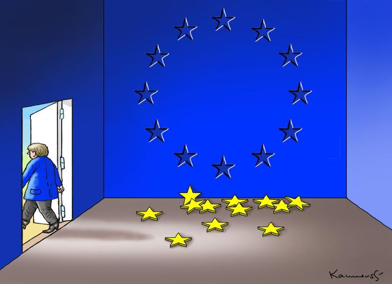 Merkel is leaving, the EU is leaving!