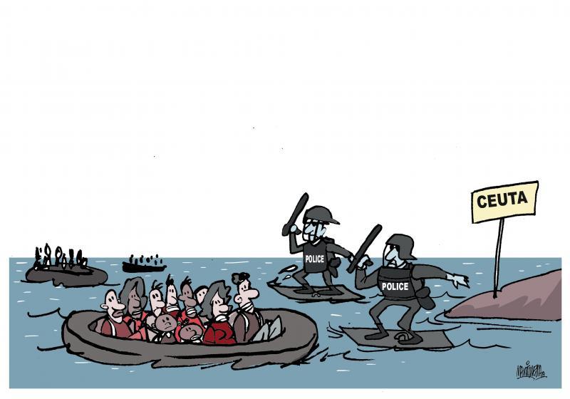 Migration tragedy in Ceuta