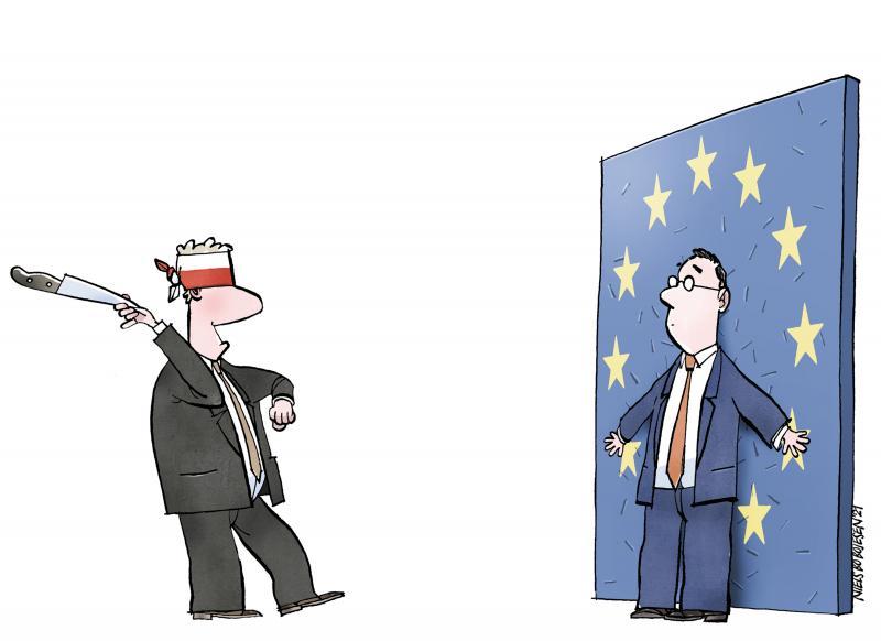 Poland's Constitutional Tribunal  versus EU.